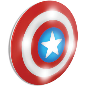 Marvel 3D Wall Light - Captain America Shield