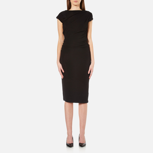 Karl Lagerfeld Women's Karl Elastic Detail Dress - Black