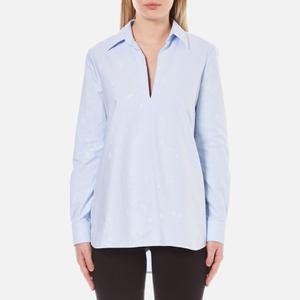 Alexander Wang Women's A-Line Tunic Shirt - Pacific