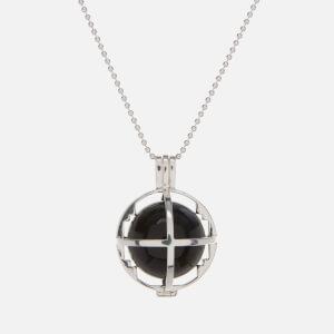 Kiki Minchin Women's The Roxy Cage Necklace - Silver/Black