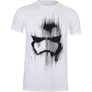 Star Wars Boys' Stormtrooper Mask Heren T-Shirt - Wit