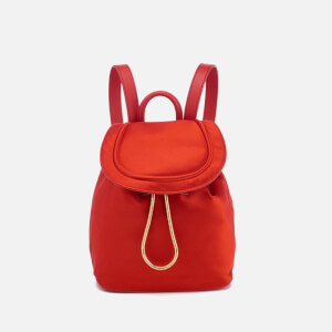 Diane von Furstenberg Women's Satin Backpack - Rust