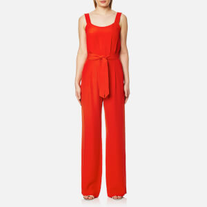 BOSS Orange Women's Akily Jumpsuit - Bright Red