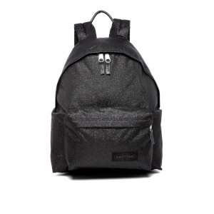 Eastpak Padded Pak'r Sparkles Backpack - Cavier Black