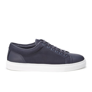ETQ. Men's Low Top 1 Leather Trainers - Midnight