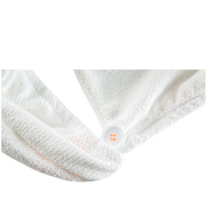 Aquis Hair Turban Lisse Luxe White: Image 5