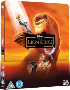 El Rey León 3D (con versión 2D) - Steelbook Exclusivo de Edición Limitada Lenticular (The Disney Collection #32)