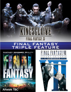 Final Fantasy Triple (Kingsglaive: Final Fantasy XV, Final Fantasy: The Spirits Within, Final Fantasy VII: Advent Children)