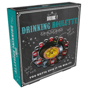 Shot Roulette Wheel - Black