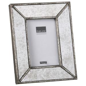 Parlane Rectangular Deco Resin Frame - Silver (24.5 x 19.5cm)