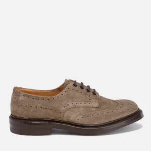 Tricker's Men's Bourton Suede Brogues - Visone
