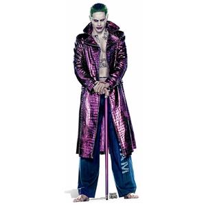 Silhouette Découpée en Carton Suicide Squad Le Joker