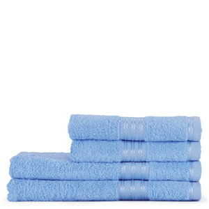 Restmor 100% Egyptian Cotton 4 Piece Supreme Towel Bale Set (500gsm) - Multiple Colours Available