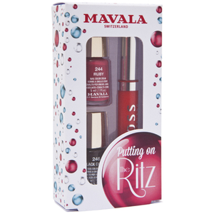 Mavala Putting on the Ritz Nail Polish and Lipgloss - Charleston