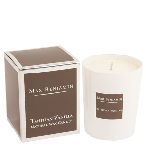 Max Benjamin Scented Glass Candle in Gift Box - Tahitian Vanilla