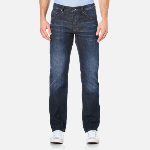 BOSS Green Men's Maine Straight Leg Jeans - Navy