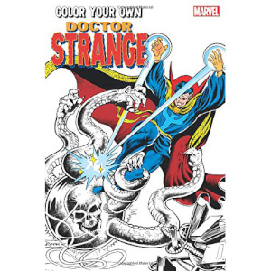 Colour Your Own Doctor Strange Graphic Novel