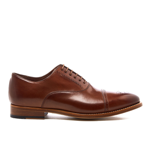 Paul Smith Men's Berty Leather Brogues - Tan Parma