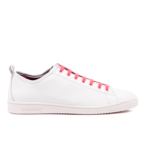 PS by Paul Smith Men's Miyata Leather Trainers - White Classic Calf