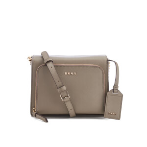 DKNY Women's Bryant Park Pocket Cross Body Bag - Clay
