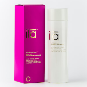 ila-spa Bath Oil for Glowing Radiance 200ml