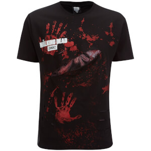 Spiral Men's Walking Dead Daryl All Infected Ripped T-Shirt - Black