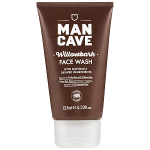 ManCave Willow Bark Face Wash 125ml