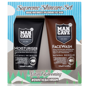 ManCave Supreme Skincare 2 Part Gift Set
