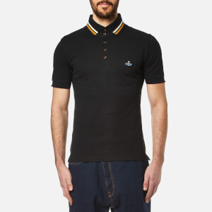 Vivienne Westwood MAN Men's Classic Krall Piquet Polo Shirt - Black