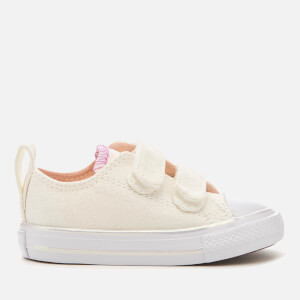 Converse Toddlers' Chuck Taylor All Star 2V Ox Trainers - White/Barely Orange