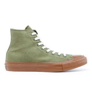 Converse Men's Chuck Taylor All Star II Hi-Top Trainers - Herbal/Gum