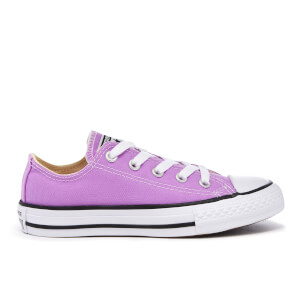 Converse Kids' Chuck Taylor All Star Ox Trainers - Fuchsia Glow