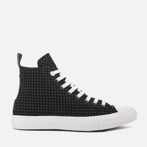 Converse Men's Chuck Taylor All Star II Hi-Top Trainers - Black/Thunder/White