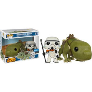 Funko Sandtrooper And Dewback Pop! Vinyl