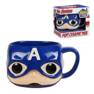 Funko Captain America Mug Pop! Home