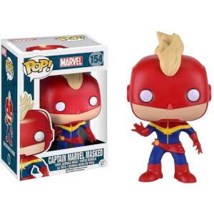 Funko Captain Marvel Masked Pop! Vinyl