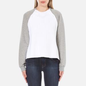 Sportmax Code Women's Maiella Button Shoulder Jumper - Light Grey