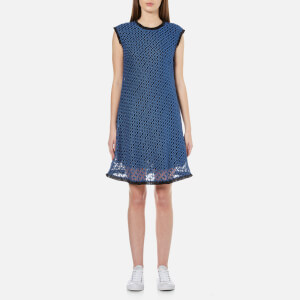 Sportmax Code Women's Galatea Lace Shift Dress - Blue