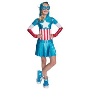 Marvel Girls' Captain America Hoody Dress
