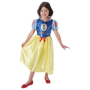 Disney Girls' Snow White Fancy Dress Costume