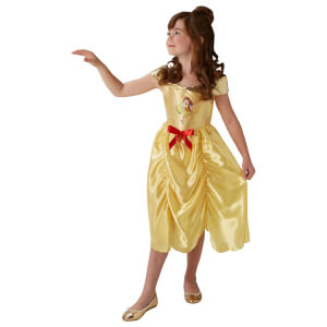 Disney Girls' Beauty and the Beast Belle Fancy Dress Costume