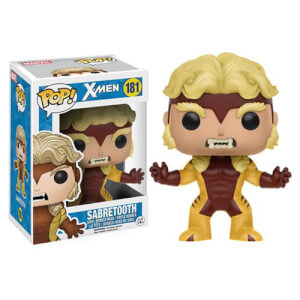 Figura Funko Pop! Dientes de Sable - X-Men