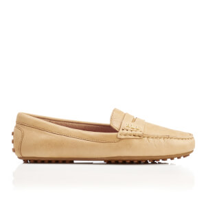 Lauren Ralph Lauren Women's Belen Soft Leather RL Loafers - Camel