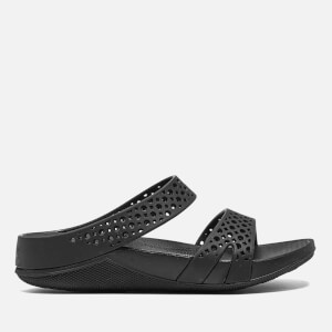 FitFlop Women's Welljelly Z-Slide Sandals - All Black