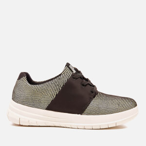 FitFlop Women's Sporty-Pop X Lizard Print Trainers - Black