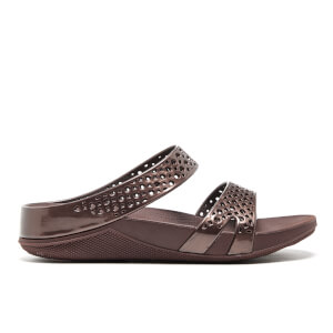 FitFlop Women's Welljelly Z-Slide Sandals - Bronze