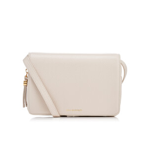 Lulu Guinness Women's Rene Grainy Leather Cross Body Bag - Porcelain