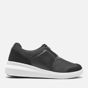 DKNY Women's Taylor Zip On Trainers - Black