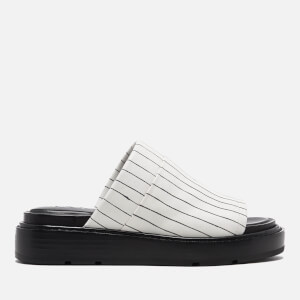 DKNY Women's Casey Flat Slide Sandals - Cream