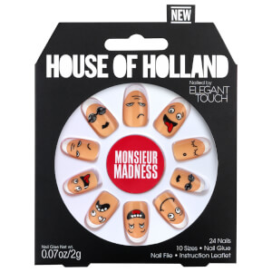 Elegant Touch House of Holland V Nails 彩繪美甲貼片 - Monsieur Madness